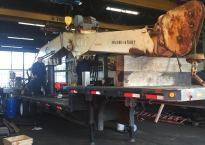 Marine Crane Repair